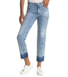 18 Years High Rise Slim Straight Leg Jeans