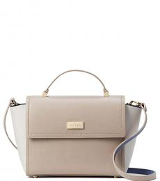 Almond Arbour Hill Charline Small Satchel