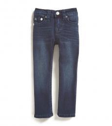 True Religion Little Boys Dark Blue Ricky Relaxed Straight Jeans