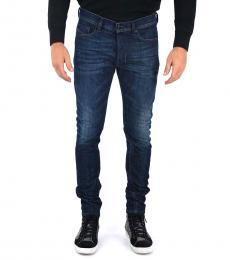 Diesel Dark Blue Stretch Tepphar Jeans
