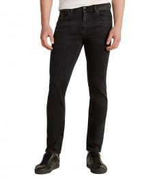 Diesel Faded Black Thommer Pantalon Jeans