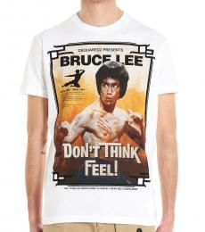 White Bruce Lee T-Shirt