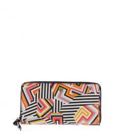 Multicolor Kerrington Zip Wallet