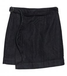 AG Adriano Goldschmied Venerate Wrap Denim Skirt