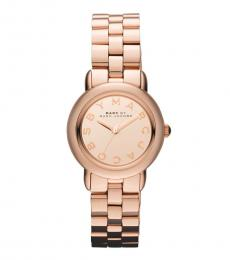 Marc Jacobs Rose Gold Mini Marci Watch