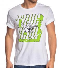 White Buddah Graphic T-Shirt