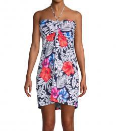 Tommy Bahama Multi Color Floral Short Dress