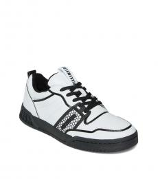 Bikkembergs White Scoby Low Top Sneakers