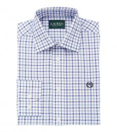 Ralph Lauren Boys Navy/Blue Checked Shirt