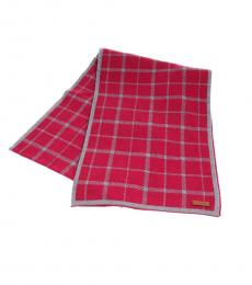 Coach Berry Tattersall Reversible Long Scarf