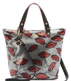 Juicy Couture Silver Lips Medium Tote