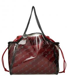 Stella McCartney Red Falabella Monogram Large Tote