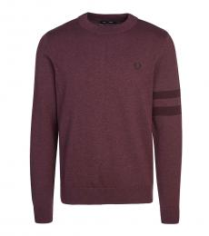 Fred Perry Cherry Logo Embroidery Sweater