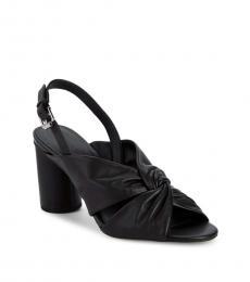 Black Agata Heels