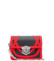 Black Wikka Mini Crossbody
