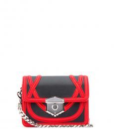 Alexander McQueen Black Wikka Mini Crossbody