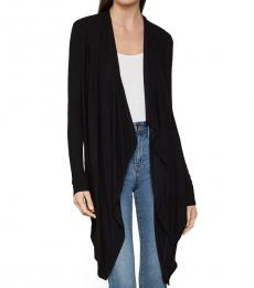 BCBGMaxazria Black Angela Cardigan Wrap