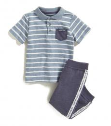 Calvin Klein 2 Piece Polo/Joggers Set (Baby Boys)