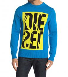 Diesel Turquoise Maxis Pullover Sweater