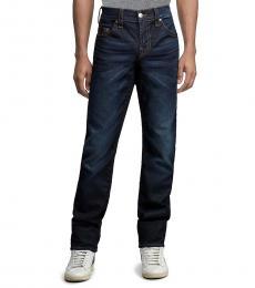 True Religion Blue Relaxed Slim Brand Jeans