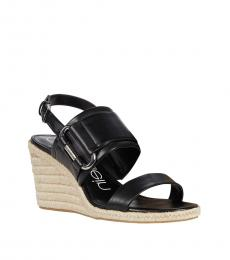 Calvin Klein Black Breanne Wedges