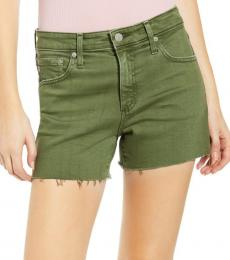 Olive Hailey Cutoff Shorts