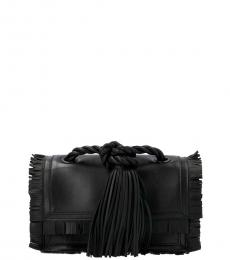 Black The Rope Medium Crossbody