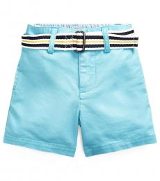 Ralph Lauren Baby Boys Neptune Belted Chino Shorts