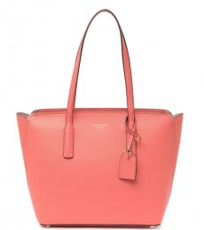 Kate Spade Peachy Pink Margaux Medium Tote