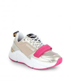 Platinum Chunky Sneakers