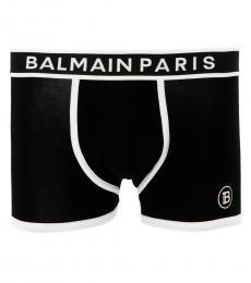 Balmain Black Logo Boxer Brief