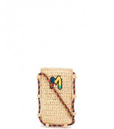 Missoni Beige Mobile Mini Crossbody