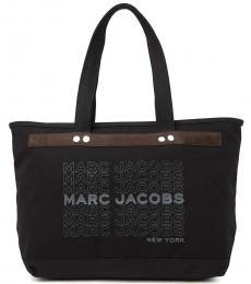 Marc Jacobs Black University Large Tote