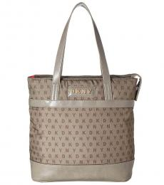 DKNY Clay Signature Garden Large Tote