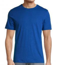 Michael Kors Royal Blue Solid T-Shirt