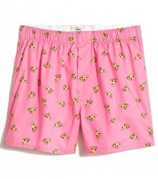 J.Crew Pink Woven Boxers