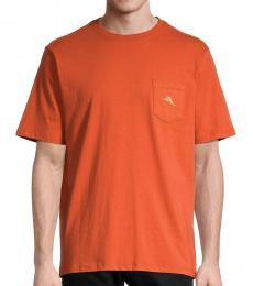 Orange Fill Graphic T-Shirt