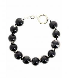 Emporio Armani Black Resin Vivid Necklace