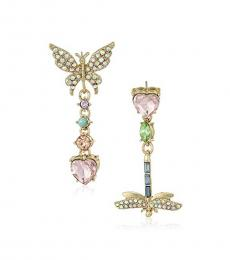 Multi color Dragon Fly Earrings
