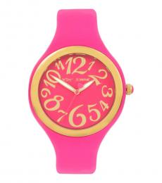 Pink Gleaming Watch