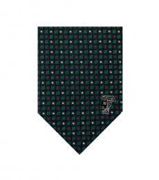 Petrol Geometric Modish Tie