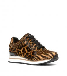 Michael Kors Leopard Print Billie Sneakers
