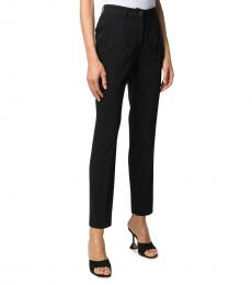 Black High Wait Trouser
