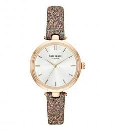 Kate Spade Glitter-Multicolor Watch