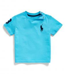 Baby Boys Liquid Blue Big Pony T-Shirt