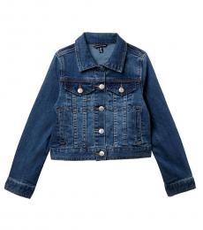 Calvin Klein Girls Blue Denim Jacket