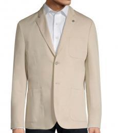 Michael Kors Stone Slim-Fit Stretch Blazer