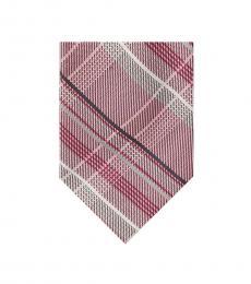 Michael Kors Pink Vast Plaid Tie