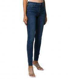 Emporio Armani Dark Blue Skinny Fit Jeans