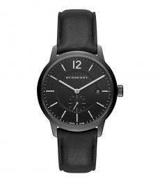 Burberry Black Classic Round Watch